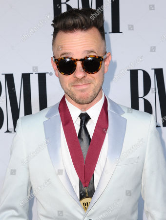BMI pop award winner Ricky Reed arrives at the 63rd annual BMI Pop Awards at the Beverly Wilshire Hotel, in Beverly Hills, Calif