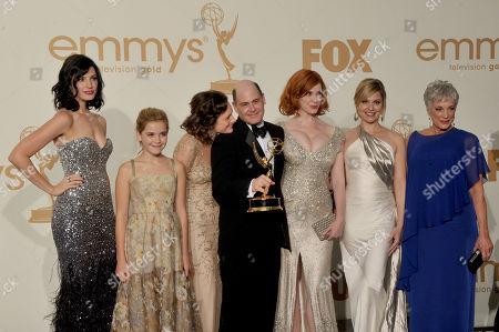 Editorial photo of 63rd Primetime Emmy Awards - Press Room, Los Angeles, USA - 18 Sep 2011