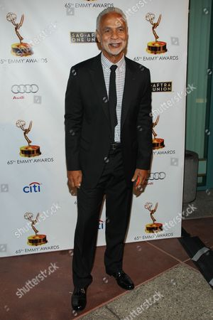 Stock Image of Actor Ron Glass arrives at the 65th Emmy Awards Nomination Celebration at the Academy of Television Arts and Sciences on in North Hollywood, California