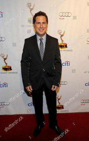 Nominee Paul Greenberg arrives at the 65th Primetime Emmys Writers Nominee Reception,, at the Leonard H. Goldenson Theatre, in North Hollywood, Calif