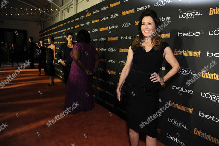 Mary McDonnell arrives at the 2013 Entertainment Weekly Pre-Emmy Party, presented by L'Oreal Paris and bebe at Fig & Olive, in Los Angeles