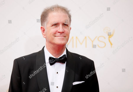 Allan Havey arrives at the 66th Primetime Emmy Awards at the Nokia Theatre L.A. Live, in Los Angeles