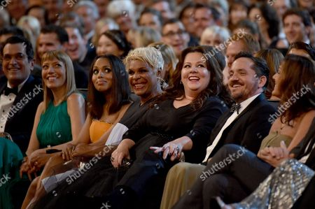 Editorial photo of 66th Primetime Emmy Awards - Audience, Los Angeles, USA - 25 Aug 2014