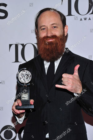 Stock Image of Leon Rothenberg arrives in the press room at the 67th Annual Tony Awards, on in New York