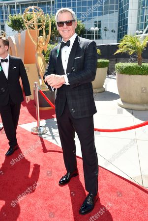 Mark Moses arrives at the 67th Primetime Emmy Awards, at the Microsoft Theater in Los Angeles