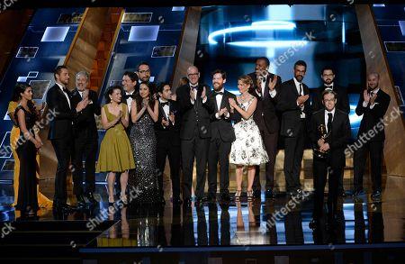 Editorial image of 67th Primetime Emmy Awards - Show, Los Angeles, USA - 20 Sep 2015