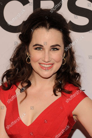 Stock Image of Lauren Worsham arrives at the 68th annual Tony Awards at Radio City Music Hall, in New York