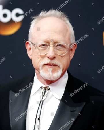 Robert Schenkkan arrives at the 68th Primetime Emmy Awards, at the Microsoft Theater in Los Angeles