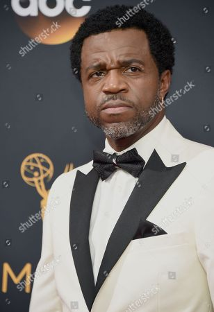 Kevin Hanchard arrives at the 68th Primetime Emmy Awards, at the Microsoft Theater in Los Angeles