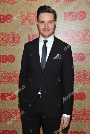 Michael McMillian arrives at the HBO Golden Globes after party at the Beverly Hilton Hotel, in Beverly Hills, Calif