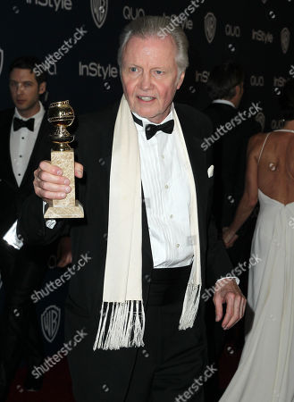 John Voight arrives at the 15th annual InStyle and Warner Bros. Golden Globes after party at the Beverly Hilton Hotel, in Beverly Hills, Calif
