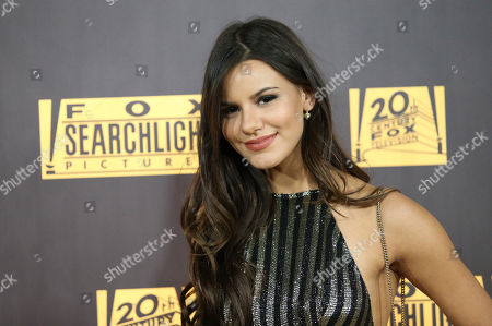 Madison Justice arrives at the FOX Golden Globes afterparty, at the Beverly Hilton Hotel in Beverly Hills, Calif