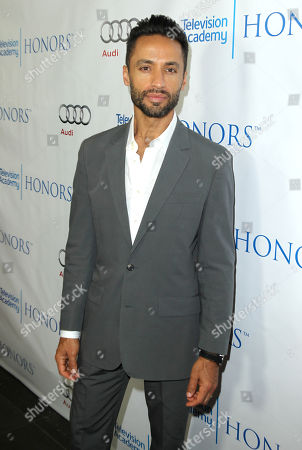 Kamar de los Reyes arrives at the 7th annual Television Academy Honors presented by the Television Academy at the SLS Hotel, in Beverly Hills, Calif