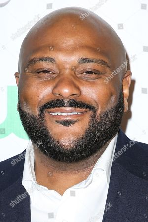 Ruben Studdard arrives at the 84th Annual Hollywood Christmas Parade, in Los Angeles