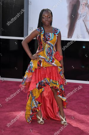 Stock Photo of Actress Rachel Mwanza arrives at the 85th Academy Awards at the Dolby Theatre, in Los Angeles