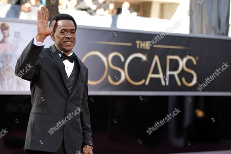 Actor Dwight Henry arrives at the 85th Academy Awards at the Dolby Theatre, in Los Angeles
