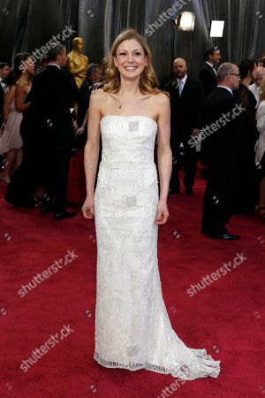 Screenwriter Lucy Alibar arrives at the 85th Academy Awards at the Dolby Theatre, in Los Angeles