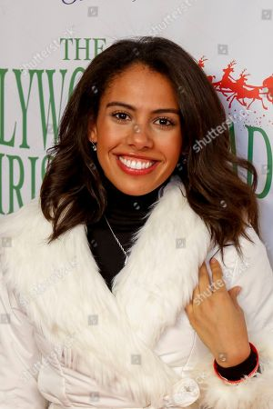 Stock Photo of Wyntergrace Williams arrives at the 85th Annual Hollywood Christmas Parade, in Los Angeles