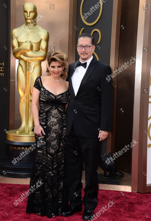 Editorial image of 86th Academy Awards - Arrivals, Los Angeles, USA - 2 Mar 2014