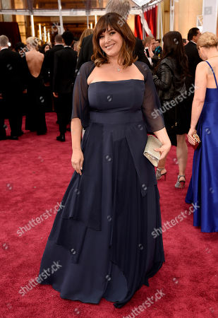 Danielle Brisebois arrives at the Oscars, at the Dolby Theatre in Los Angeles
