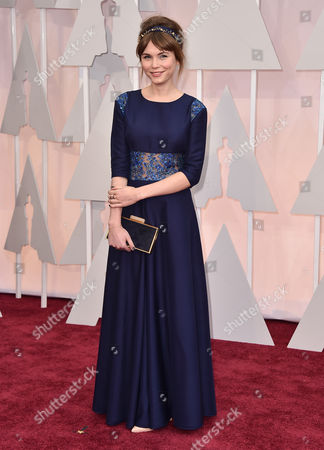 Stock Image of Agata Trzebuchowska arrives at the Oscars, at the Dolby Theatre in Los Angeles