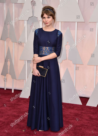 Stock Photo of Agata Trzebuchowska arrives at the Oscars, at the Dolby Theatre in Los Angeles