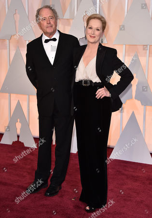 Stock Photo of Don Gummer, left, and Meryl Streep arrive at the Oscars, at the Dolby Theatre in Los Angeles