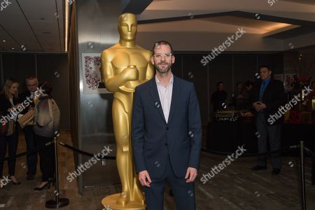 """Stock Photo of Charlie Siskel arrives at the 87th Academy Awards - """"Documentaries"""" at the Samuel Goldwyn Theatre on in Beverly Hills, Calif"""