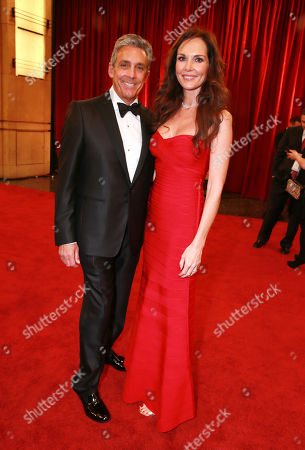 Stock Photo of Charles S. Cohen, CEO and Chairman of Cohen Media Group, left, and Chloe Cohen arrive at the Oscars, at the Dolby Theatre in Los Angeles