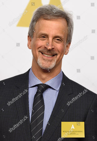 William Goldenberg arrives at the 87th Academy Awards nominees luncheon at the Beverly Hilton Hotel, in Beverly Hills, Calif
