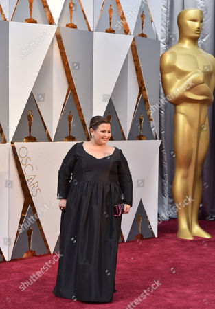 Nicole Rocklin arrives at the Oscars, at the Dolby Theatre in Los Angeles
