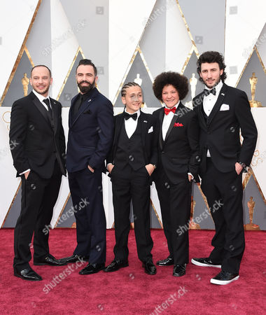 Editorial image of 88th Academy Awards - Arrivals, Los Angeles, USA - 28 Feb 2016