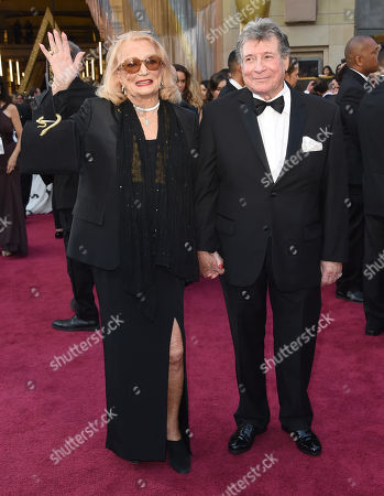Gena Rowlands, left, and Robert Forrest arrive, at the Dolby Theatre in Los Angeles