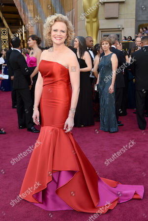 Meg LeFauve arrives at the Oscars, at the Dolby Theatre in Los Angeles