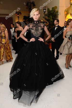 Dorith Mous attends the Governors Ball after the Oscars, at the Dolby Theatre in Los Angeles