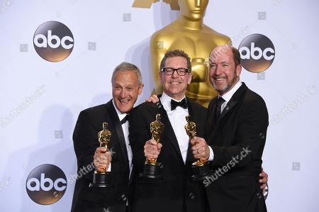 Editorial image of 88th Academy Awards - Press Room, Los Angeles, USA - 28 Feb 2016