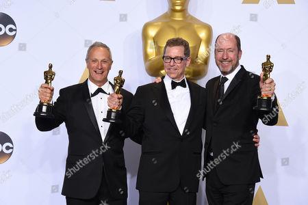 Editorial photo of 88th Academy Awards - Press Room, Los Angeles, USA - 28 Feb 2016