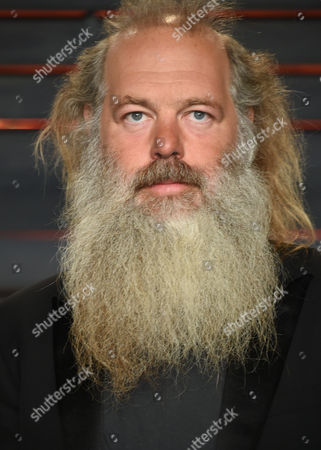Rick Rubin arrives at the Vanity Fair Oscar Party, in Beverly Hills, Calif