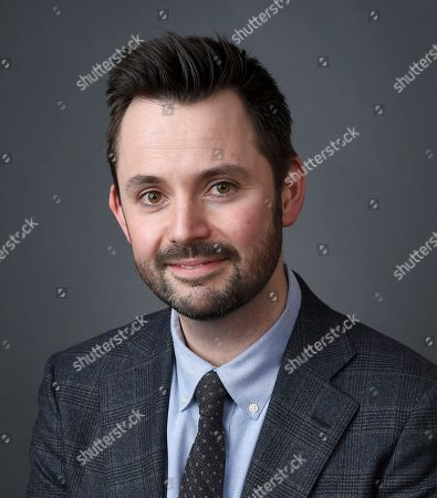 Matt Charman poses for a portrait at the 88th Academy Awards Nominees Luncheon at The Beverly Hilton hotel, in Beverly Hills, Calif