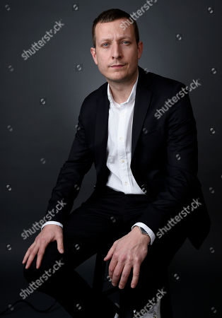 Tobias Lindholm poses for a portrait at the 88th Academy Awards Nominees Luncheon at The Beverly Hilton hotel, in Beverly Hills, Calif