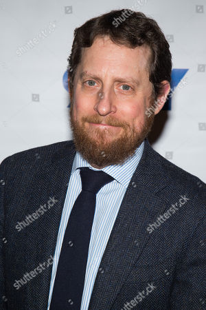"""Scott M. Gimple attends a screening and conversation with cast members from """"The Walking Dead"""" at 92Y, in New York"""