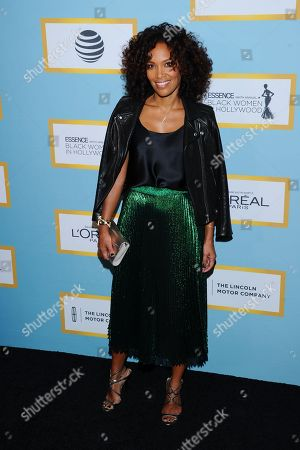 Mara Brock Akil is seen at the Essence 9th Annual Black Women in Hollywood Luncheon at The Beverly Wilshire Hotel, in Beverly Hills, CA