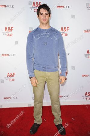 Steven R. McQueen arrives at the Abercrombie & Fitch â?oeThe Making of a Starâ?? Spring Campaign Party on Saturday, Feb, 22, 2014 in Los Angeles