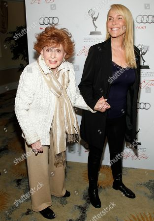 Editorial photo of Academy of Television Arts & Sciences 21st Annual Hall of Fame Ceremony - Arrivals, Beverly Hills, USA - 1 Mar 2012