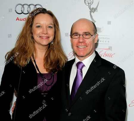MARCH 1: (L-R) Barry Livingston and wife Karen arrives at the Academy of Television Arts & Sciences 21st Annual Hall of Fame Ceremony at the Beverly Hills Hotel on in Beverly Hills, California