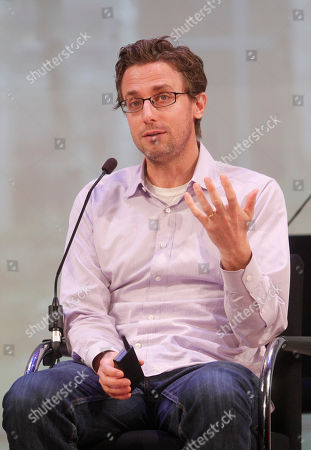 Jonah Peretti, Founder and CEO of Buzzfeed, speaks during a presentation at Advertising Week on in New York