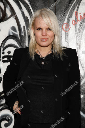 Becka Diamond attends the Alice and Olivia's 2014 Fall/Winter presentation during Mercedes Benz Fashion Week, in New York