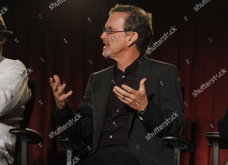 Garry Trudeau, creator and executive producer of Alpha House, is seen at the Television Academy presents Amazon Studios, on at the Leonard H. Goldenson Theatre in North Hollywood, Calif
