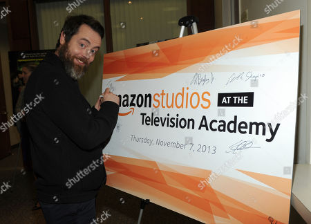 Stock Picture of Jonathan C. Daly is seen at the Television Academy presents Amazon Studios, on at the Leonard H. Goldenson Theatre in North Hollywood, Calif