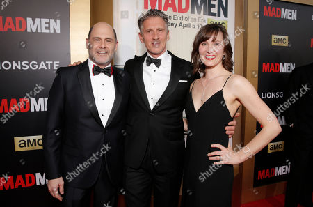 "Editorial picture of AMC's Black & Red Ball To Celebrate The Final Episodes Of ""Mad Men"" - Red Carpet, Los Angeles, USA - 25 Mar 2015"